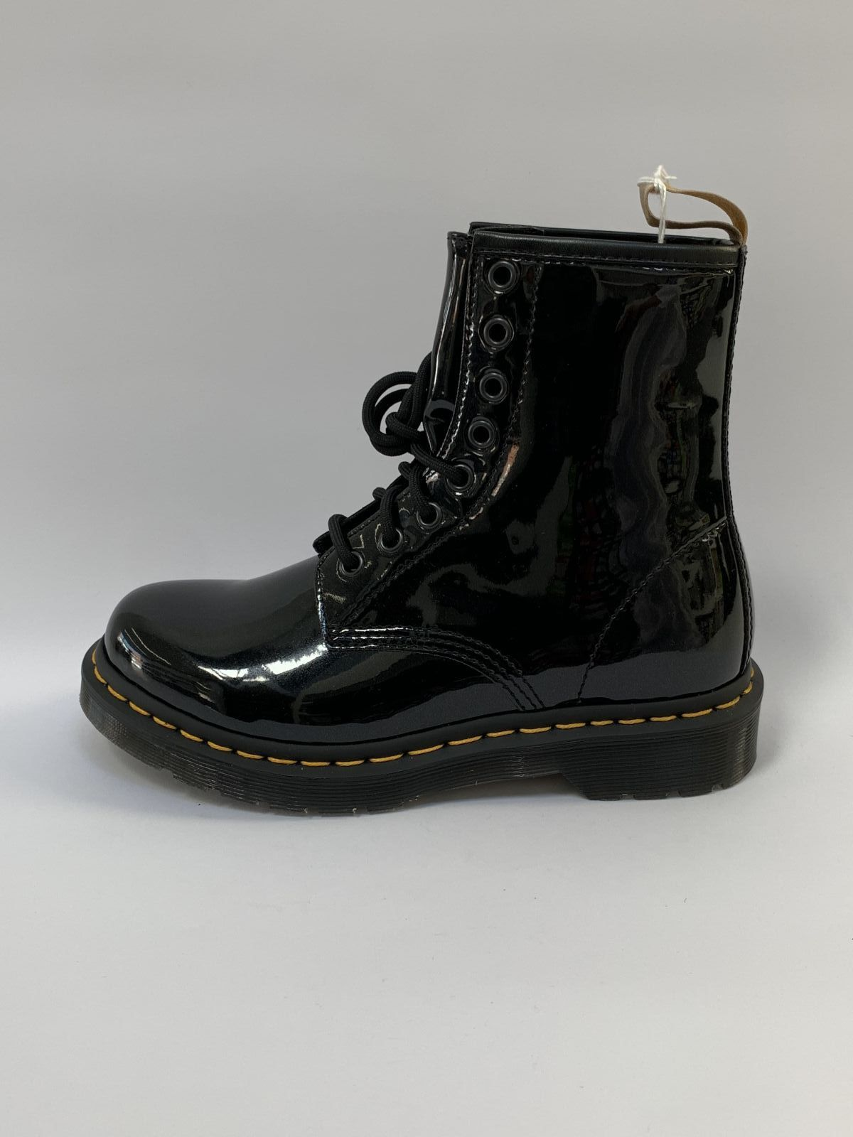 Dr.Martens Bottine Zwart dames (Bottine Vegan Lak - 25560001) - Schoenen Luca